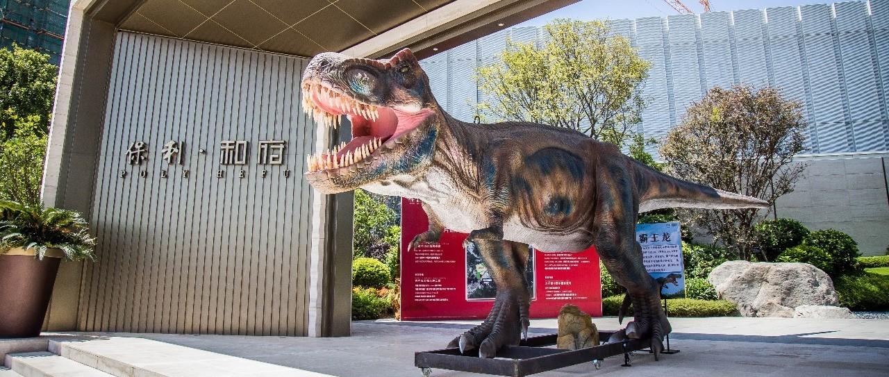 """普宁恐龙展震撼来袭!让你1秒穿越到""""侏罗纪""""..."""