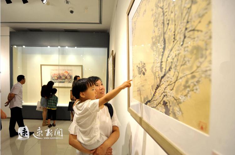 """来""""约会""""宿迁市博物馆 感受当代与古代书画魅力"""
