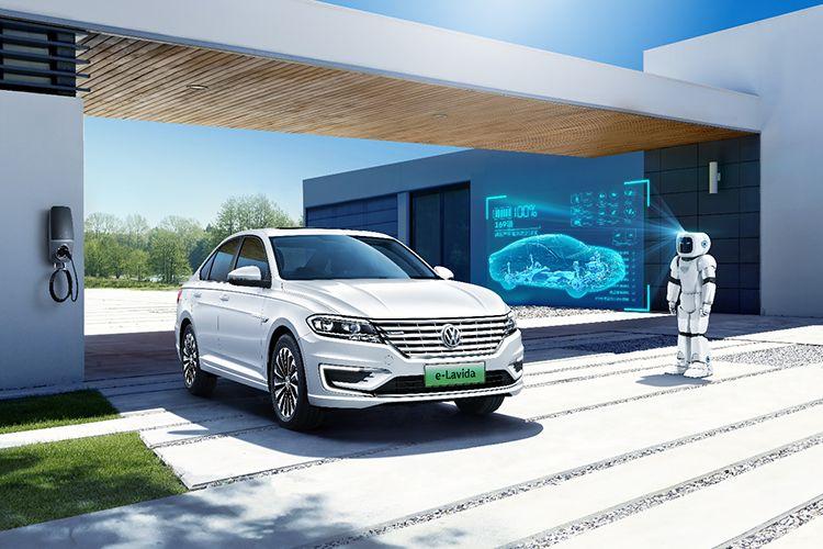 大众首款纯电动车型朗逸纯电上市!14.89万元,综合续航278km