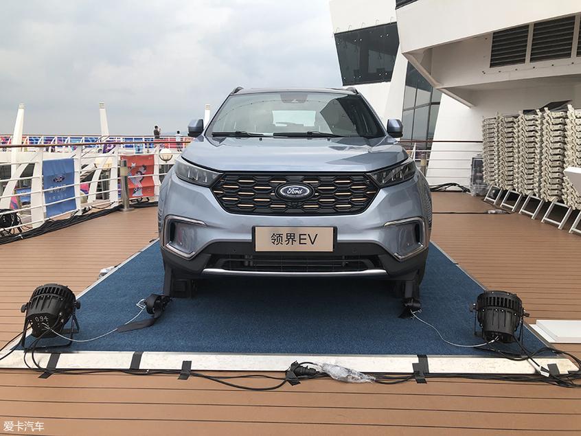 江铃福特领界EV正式亮相 续航里程360km