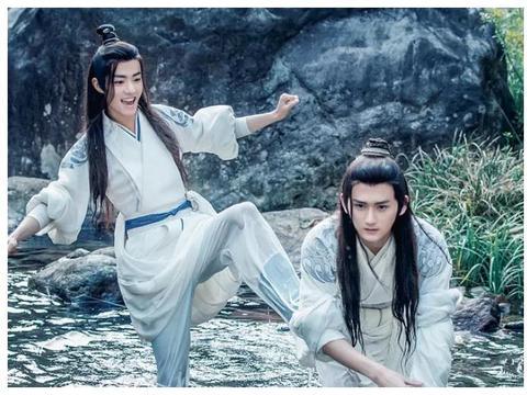 4个月前出演《东宫》无人知,现凭借《陈情令》爆红,太争气了!