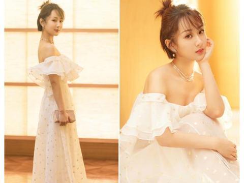 未婚女星婚纱照:杨紫热巴周冬雨鞠婧祎,谁美得如梦中仙女?