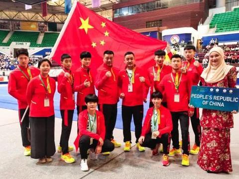 第十届亚洲青少年武术散打锦标赛 塔沟武校学员荣获5枚金牌