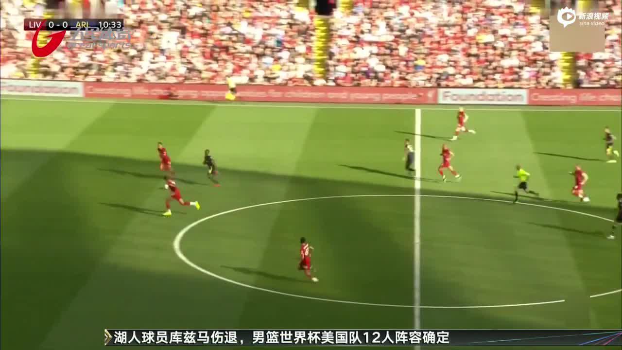 视频-萨拉赫梅开二度 利物浦3-1阿森纳赢得榜首大战