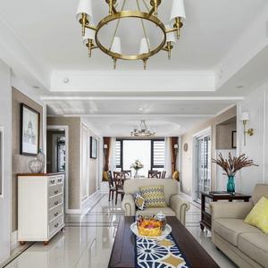 130平米新房,四居室装修才花6万元,邻居看了羡慕不已!-太湖雍华府装修