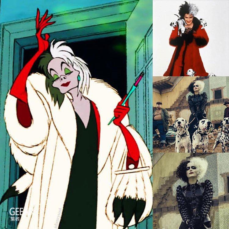 看过艾玛·斯通饰演反派吗?迪士尼释出《101斑点狗》最新剧照!