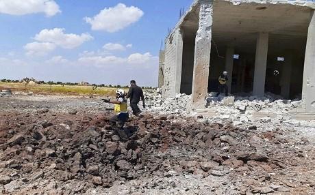 叙利亚包围哈马省叛军,逃生走廊再次打开,土耳其营救