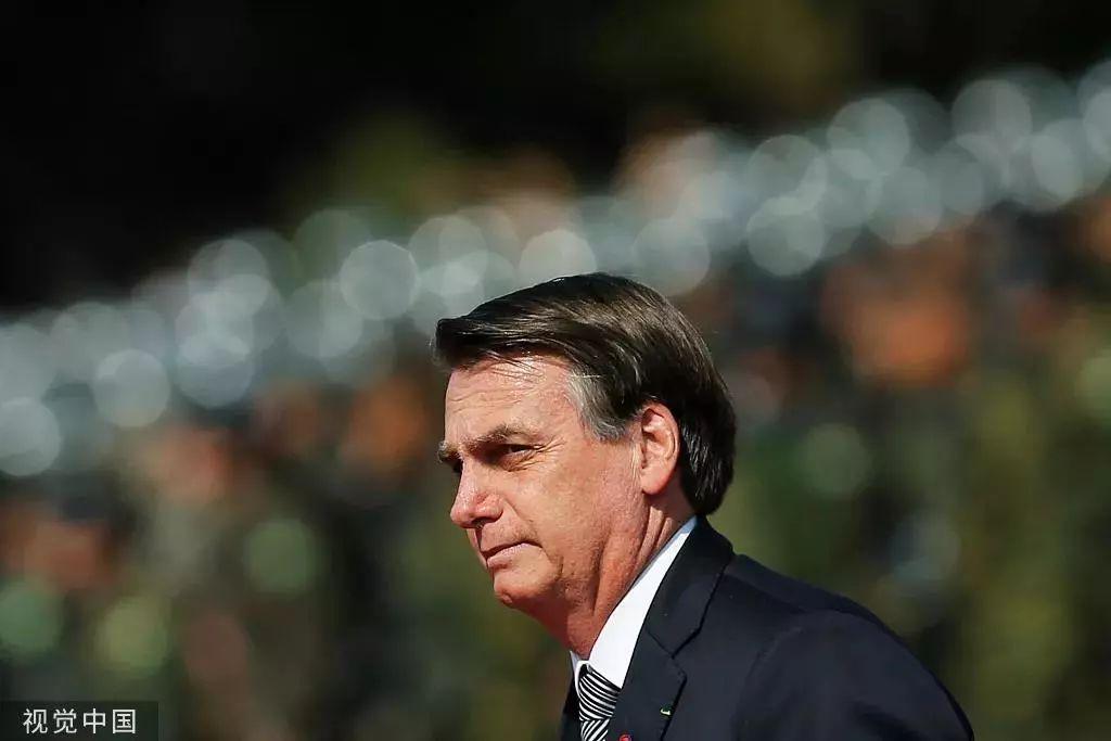 ▲巴西总统博尔索纳罗。图片来源/视觉中国