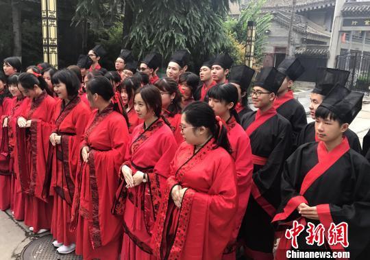 台湾大学生西安开启文化之旅 着