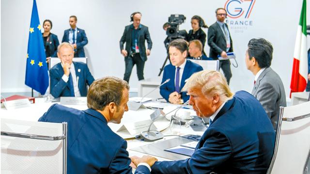 """G7峰会法国小心翼翼绕过""""贸易""""话题,美国却不领情反指法方孤立特朗普"""