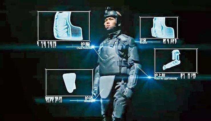 港媒:香港警队从内地采购的新型防暴护甲到货