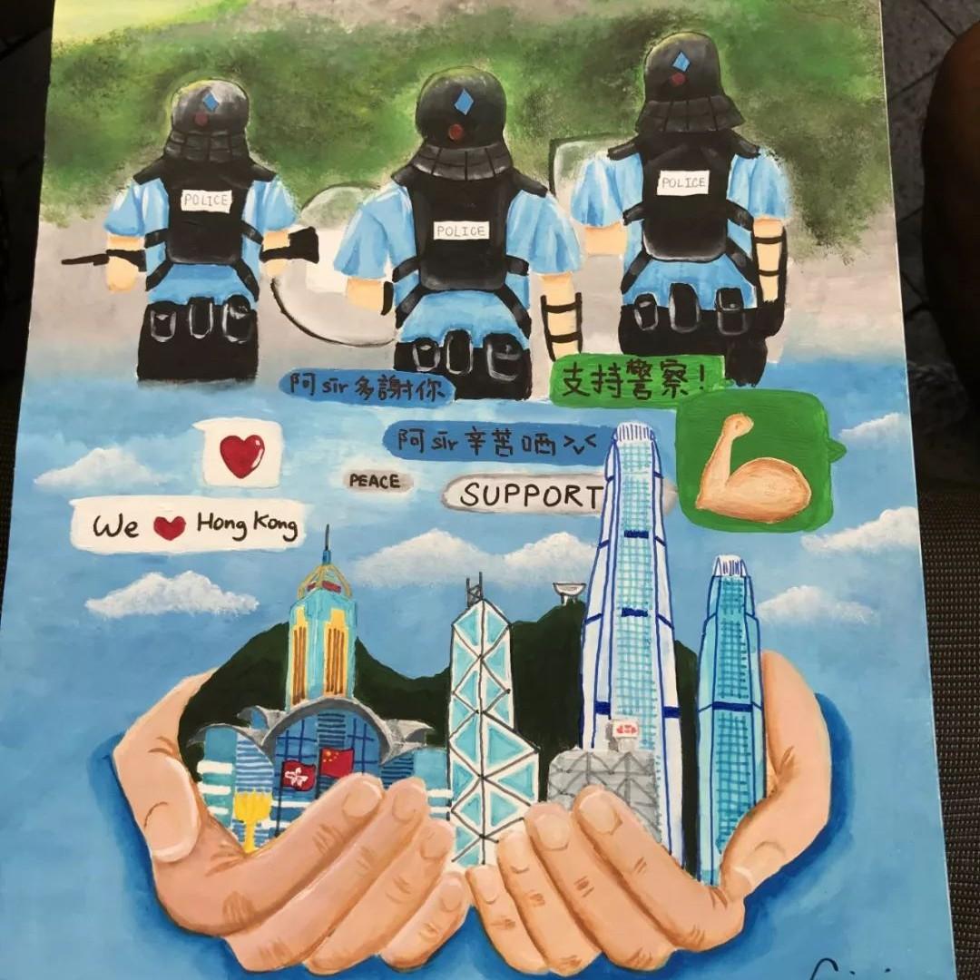 """""""我做的事情没有错,就不用害怕!""""18岁香港女孩的这封公开信让人深思"""