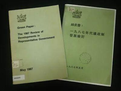 1987年《代议制鼎革绿皮书》