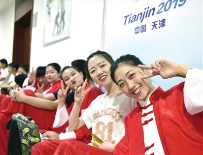 天津理工大学节目《太极扇》将亮相开幕式
