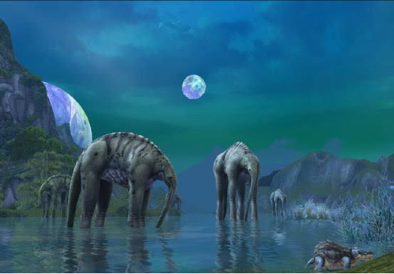 若将人类和东北虎都带到恐龙时代,他们会与恐龙擦出怎样的火花?