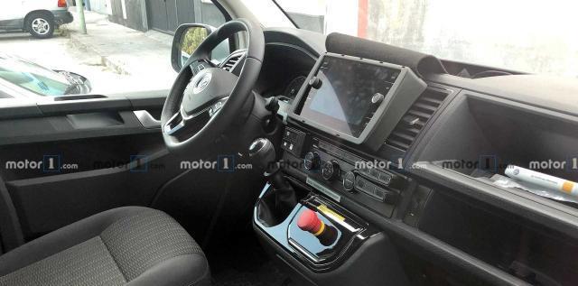 新大众迈特威T7车型路试车曝光,引擎舱位置加长,内饰调整