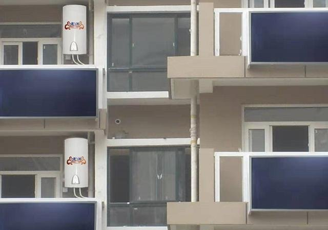 太阳能热水器还能放阳台上看完这种设计真想回家重装