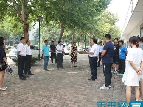陕西国际商贸学院领导检查开学工作准备情况
