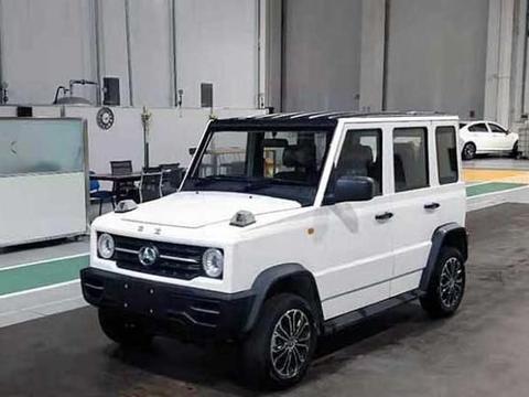 """北汽""""豹100""""全新SUV!简直就是小号奔驰G,3.2米比吉姆尼更萌"""