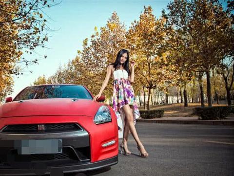 """""""东瀛战神""""GTR红色外观,配合花色车模,大气外观让人点赞"""