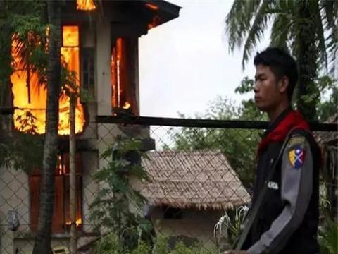 缅北冲突持续升级,2500名难民逃离边境,希望邻国收留他们