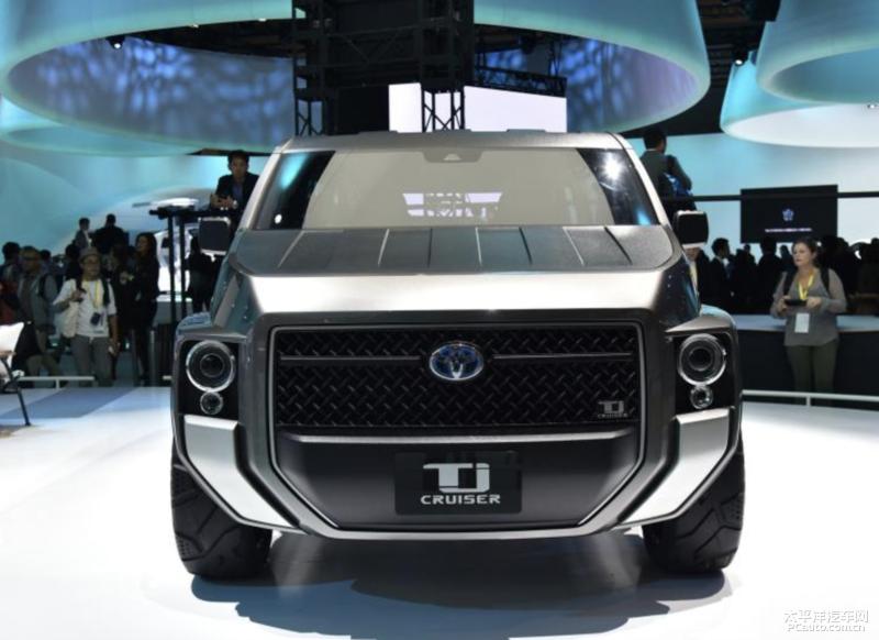 """丰田Tj Cruiser概念车或将量产,太""""刚""""了"""