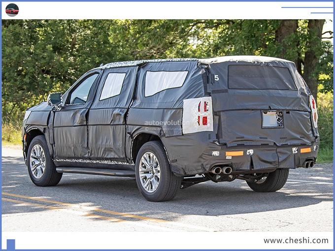 """美系""""硬汉""""SUV曝光!一次能坐9个人,配6.2L V8+10AT,跑的还快"""
