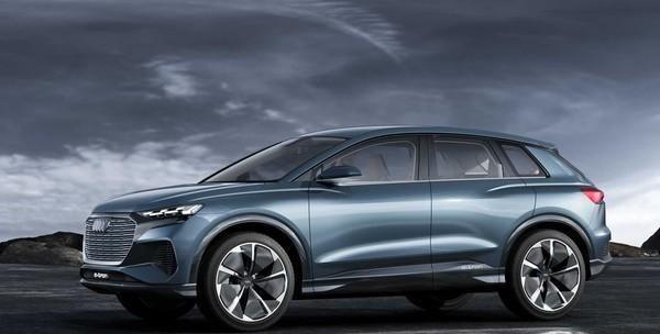 Audi Q4 etron将成首部客制化灯具电动休旅 共25种可选