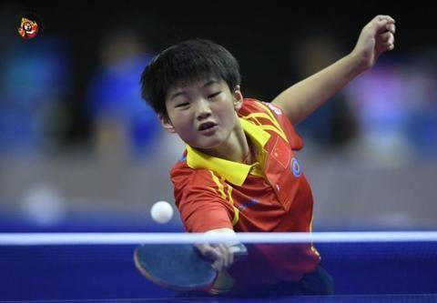 少儿乒乓对抗赛中日各获三项冠军,张本美和U11女单夺冠