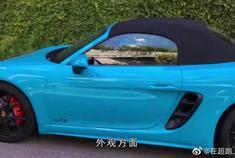 """视频:保时捷718 Boxster:升级的不仅是颜值,更是""""才华"""""""