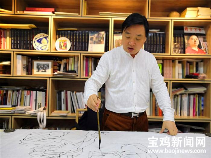 陕西省美术博物馆馆长罗宁:灵动笔墨绘就女性别样之美
