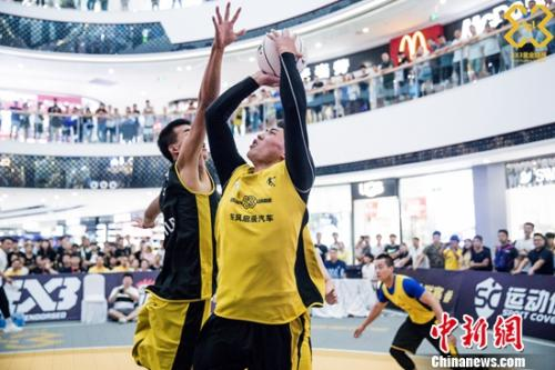 黄金联赛西安站:汉中3x3 18:13击败诺克夺冠