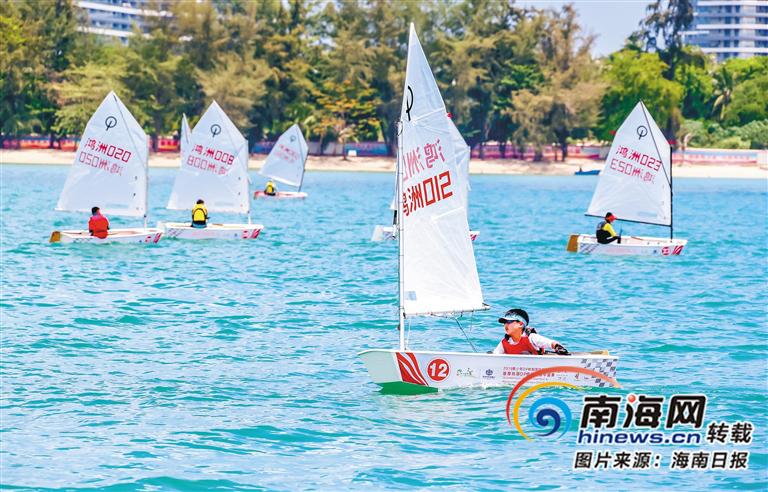 帆船赛事为海南青少年打开一片新天地:扬帆破浪恰同学少年
