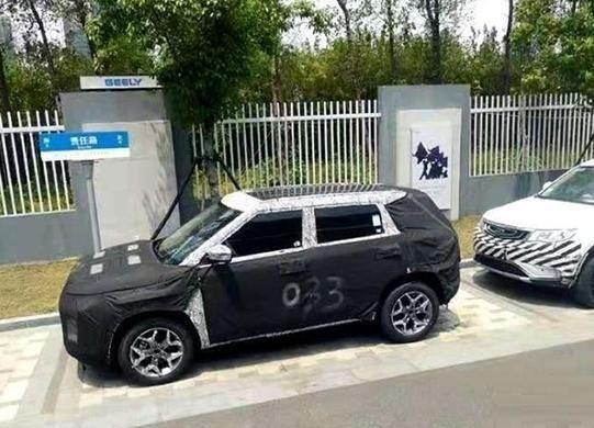 新车或将被命名为icon,吉利新SUV路试照曝光,有望年内上市