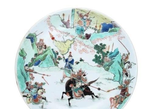 看外销瓷,读水浒传 | 奚建军导览中国瓷器纹饰里的武打场景