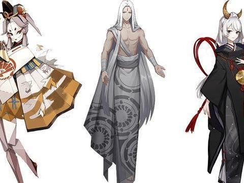 阴阳师体验服新章式神和NPC立绘公开 疑似新式神天照月读和海鸣