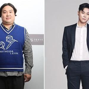 韩男艺人减重32kg 盘点明星减肥前后对比