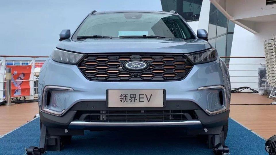 补贴后18.28万元起,福特领界EV上市