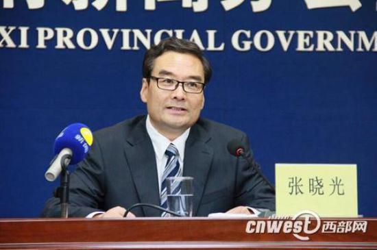 张晓光接替卢建军任陕西省发改委党组书记