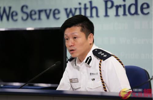 香港警方:暴力示威者行为与追求诉求完全没关系