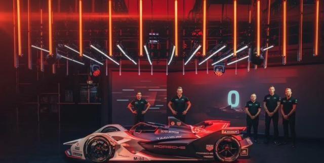 保时捷99X Electric参战电动方程式新赛季