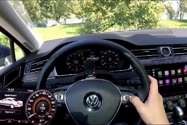 视频:大众帕萨特市区驾驶体验,高级感满满