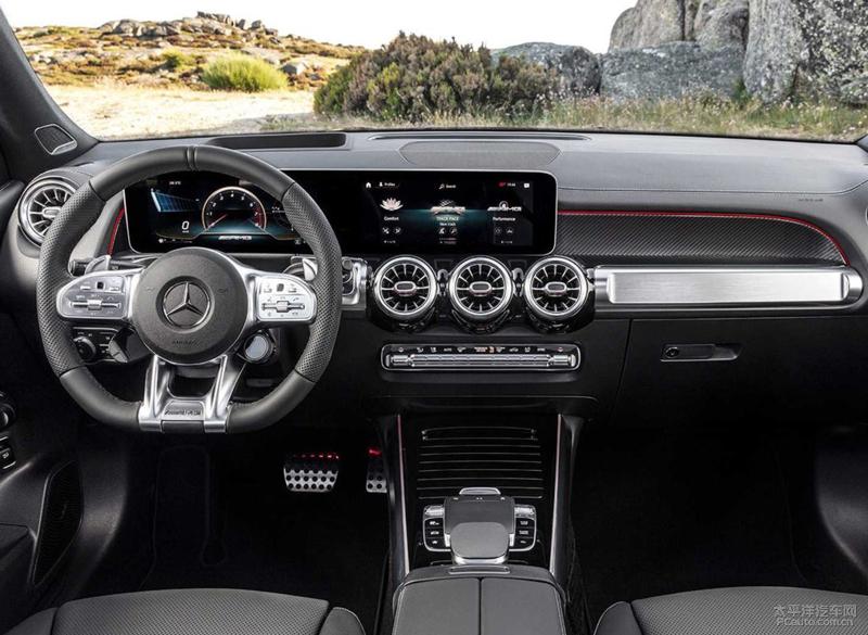 奔驰AMG GLB35官图发布 新车9月亮相\年底国产