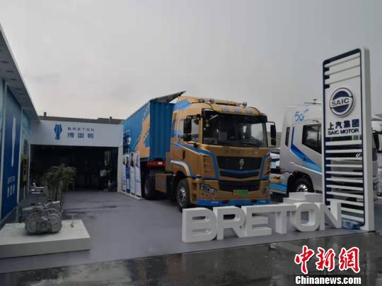 """上海:临港新片区亮相人工智能大会无人驾驶""""弹眼落睛"""""""