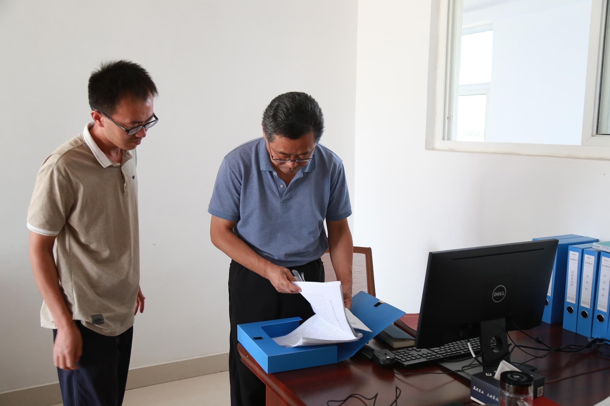 临沂市第一书记工作办公室到临港区调研干部下基层工作