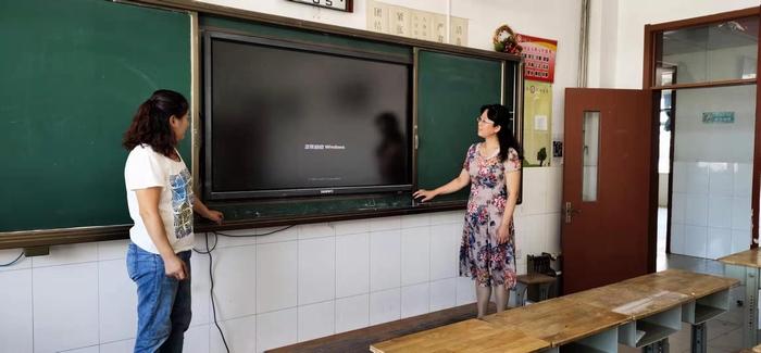 开学在即 德州经开区各学校做好开学前准备工作
