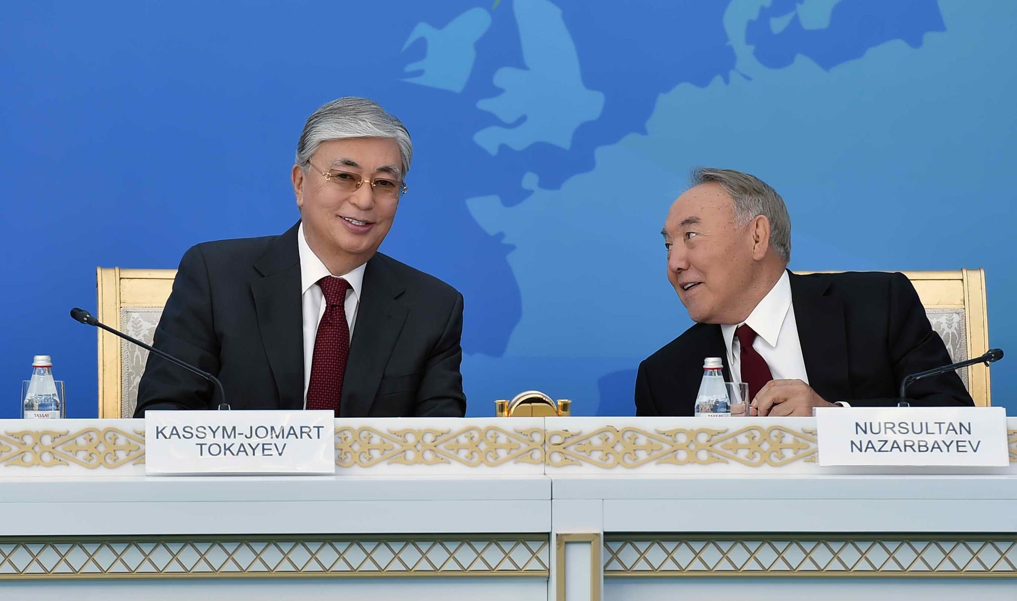 哈萨克斯坦首任总统纳扎尔巴耶夫:有核国家应加强对话维护全球安全
