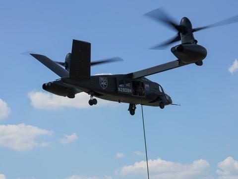 """""""黑鹰""""将被替换?美国陆军测试倾转旋翼机,比""""鱼鹰""""先进"""