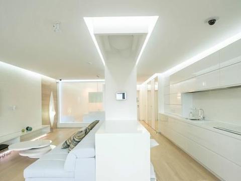 未来的家装设计是什么样子?101平18万装修,前卫时尚感爆棚!