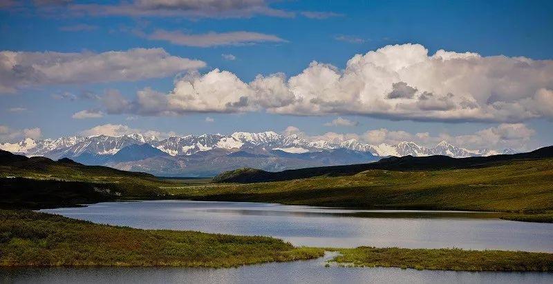 ▲材料图片:好国阿推斯减州的雪山取湖泊(新华社)